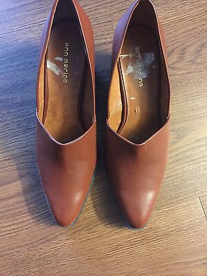 Womens Shoes Brown 9 Slip On New