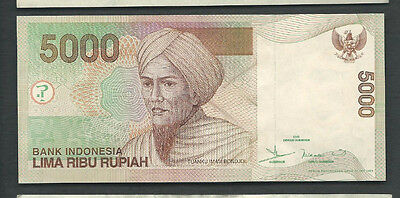 Indonesia 2001/2004 5000 (5,000) Rupiah P 142d Circulated