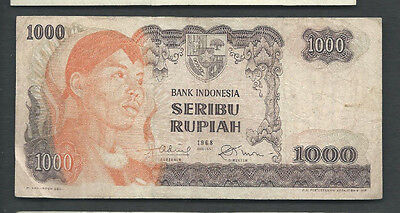 Indonesia 1968 1000 (1,000) Rupiah P 110 Circulated
