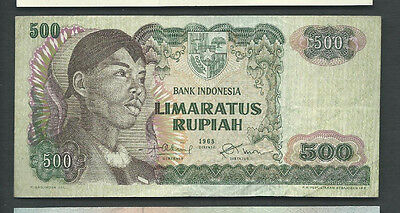 Indonesia 1968 500 Rupiah P 109 Circulated