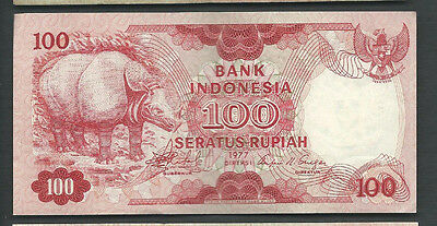 Indonesia 1977 100 Rupiah P 116 Circulated