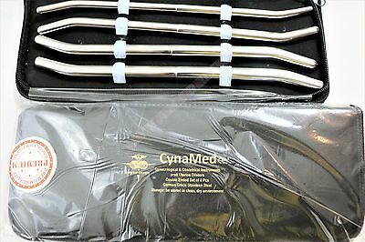 New Premium German Grade Pratt Dilator Sounds 8/set Surgical Medical Instruments