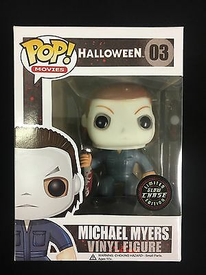 Funko POP Movies Michael Myers Chase Glow in the Dark Horror Vinyl Figure