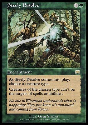 Steely Resolve ~ Onslaught ~ Excellent+ ~ Magic The Gathering