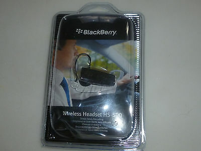 manual blackberry wireless headset hs 500
