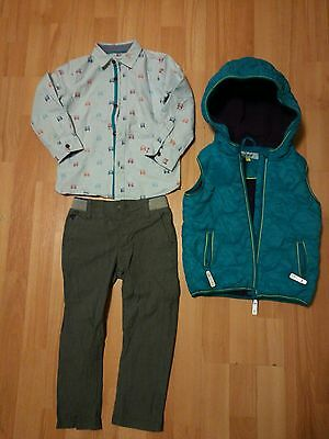 ted baker at debenhams boy smart outfit wedding shirt bundle size 3-4 years 2-3