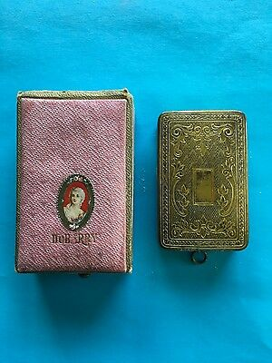 Antique 1900's DuBarry Richard Hudnut compact and box