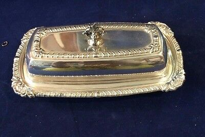 ANTIQUE BUTTER DISH MFG. SHEETS-R.-S.-CO VERY OLD AND VERY NICE Clean & Shiny