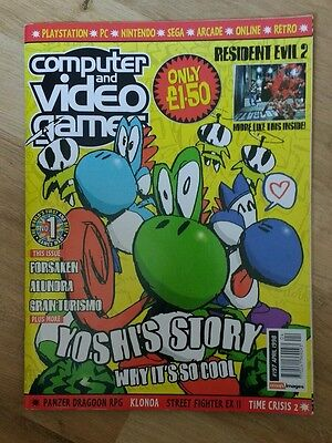 CVG Computer and Video Games Magazine - Issue 197 April 1998 (Yoshi's Story)