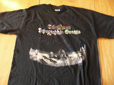 Yes:Official Black T-Shirt XL of«Tales From Topographic Oceans»Full Color unused