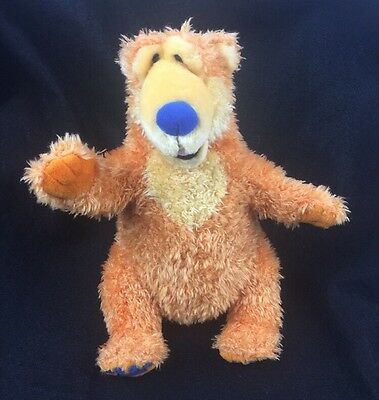 """APPLAUSE BEAR IN THE BIG BLUE HOUSE 10"""" PLUSH BANK Free Shipping"""