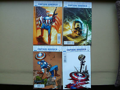 Ultimate Captain America  lot of 4 issue #'s 1 - 4  2011 Marvel