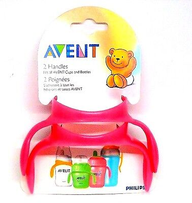 Philips Avent Handle for Cups and Bottles   Assorted Colors New Free Shipping