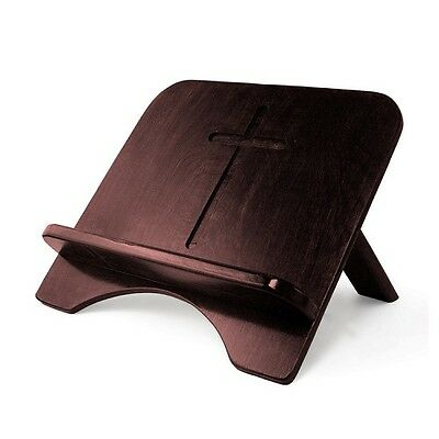 Wood Burgundy Stand For Bible Or Book (Large) Bk501Burg