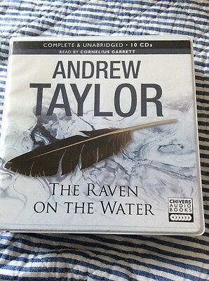 The Raven on the Water by Andrew Taylor: Unabridged Audiobook On 10 CD's : New