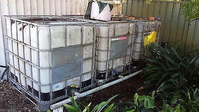 3 x IBC water tanks
