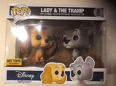 Funko Pop Disney Lady and the Tramp 2-Pack Hot Topic Exclusive