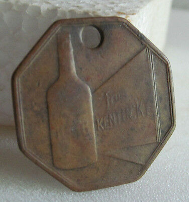 Brown - Forman Advertisement Bottle Tag Pre-1910 !rare!!!a Must Have !!