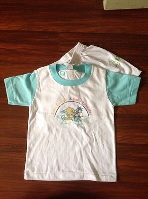 Baby Pjs Summer Size L / 1 Unisex Baby Looney Tunes