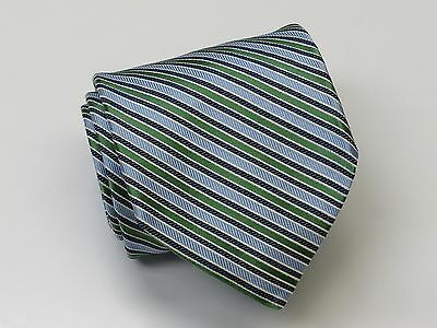 Hand Made FACONNABLE Striped Silk Tie (Italy) - New
