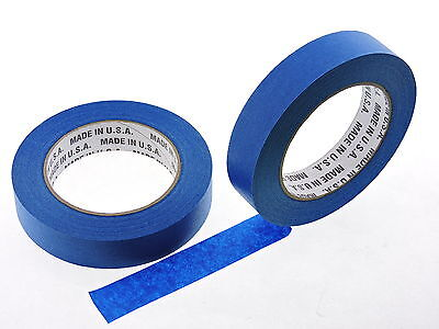 2x USA 1 in inch 60 yd Contractor Blue Painters Tape Paint Masking Easy Release