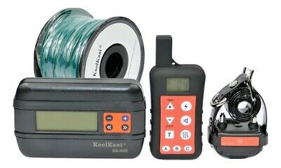 In-ground/underground Containment Electric Fence & Remote E Collar Bark Trainer
