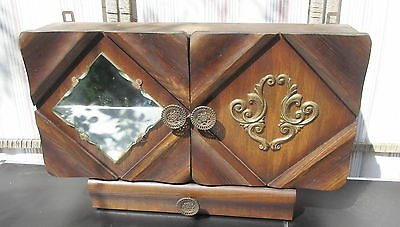 Apothecary cabinett France  with mirror ART DECO