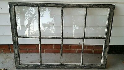 Vintage Sash Antique Wood Window Unique Frame Pinterest Rustic Distressed 36X28