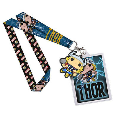 Thor - Thor Pop! Lanyard NEW Funko Marvel office ID card neck strap