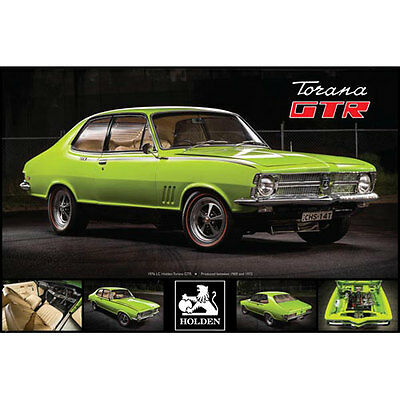 Holden - 1976 LC Torana GTR POSTER 61x91cm NEW * Classic Car To Fly 4-Cylinder