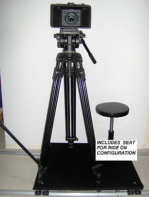 Camera Dolly with 12 ft. of Dolly Track  New