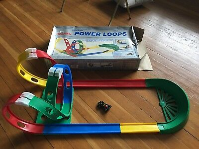Darda Pull Back Car Power Loops Track Includes John Players Car & BoxVTG Germany