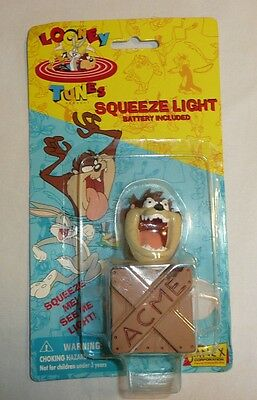 Taz The Tasmanian Devil Themed Squeeze Light Figure Looney Tunes Warner Bros
