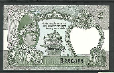 NEPAL 2 Rupees, ND, UNCIRCULATED
