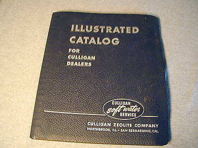 "Vintage 1950's "" Illustrated Catalog ""  for Culligan Dealers dated 1954 to 1958"