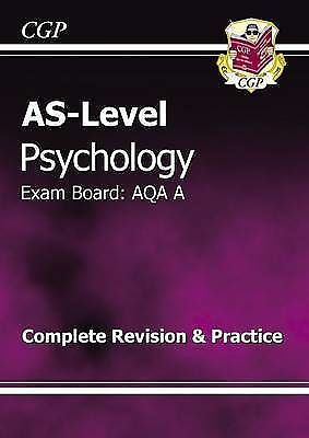 AS-Level Psychology AQA a Complete Revision & Practice by CGP Books (Paperback,…