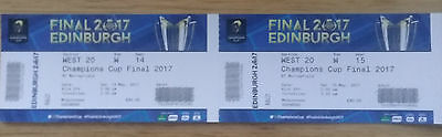 Rugby Champions Cup Final Tickets CAT A x2