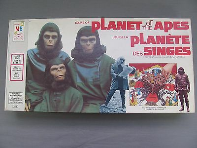 Vintage Planet of the Apes Board Game Complete Milton Bradley 1974 Exc Condition