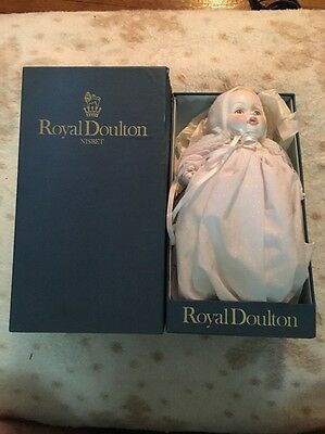 """Royal Doulton China Doll Limited Edition """"The Baby Prince"""" 1984 In Original Box"""