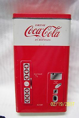 Drink Coca Cola in Bottle Classic Tin Can Bottle Coke Dispenser Machine