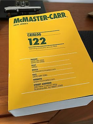 McMaster-Carr Catalog New 2016 Edition #122