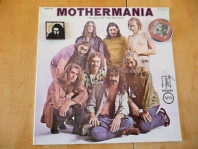 "Frank Zappa: ""Mothermania"" Bizarre/Verve Records (Black label)#2304 164+ 2Badges"