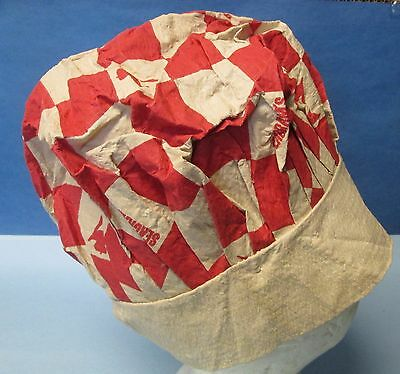 Vintage Seagram's Seven (7) Crown Whiskey Paper Chef's Hat Very Rare
