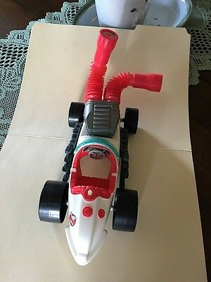 Vintage Real Ghostbusters Ecto-500 Race Car, Kenner, 1989