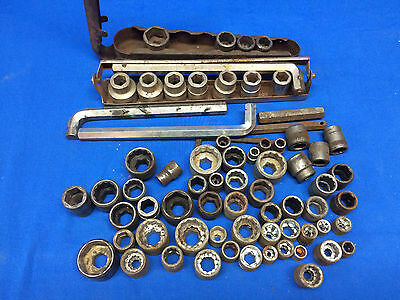 Lg. Lot of Hex Drive Sockets & Tools Asstorted Sizes and Styles Unkown Brands