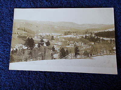 Vintage Rppc View Of Woodhull   Or Avoca ? Ny   Post Card  New York