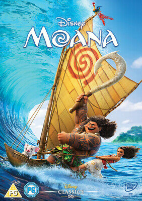 Moana DVD (2017) Ron Clements cert PG Highly Rated eBay Seller, Great Prices