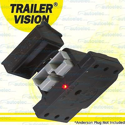 50 Amp Connector Plug Cover Assembly For Anderson Plugs 50Amp 50A Caravan Power