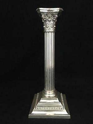 """Antique Gorham Sterling Silver 3207 10 1/4"""" Candlestick Neoclassic Corithian"""