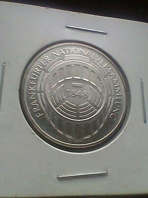 1973-G Germany 5 Marks KM#137 - Silver Coin UNC